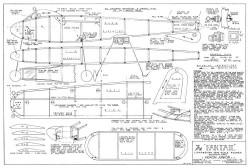 Fantail model airplane plan