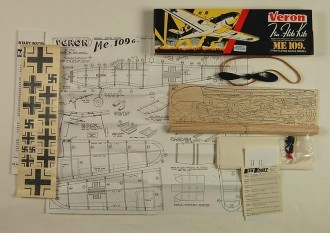 ME 109 G model airplane plan