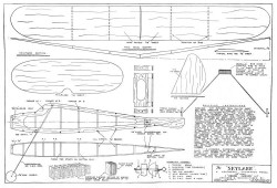 Skylark model airplane plan