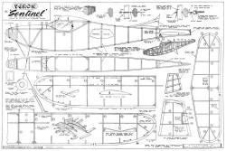 Sentinel model airplane plan