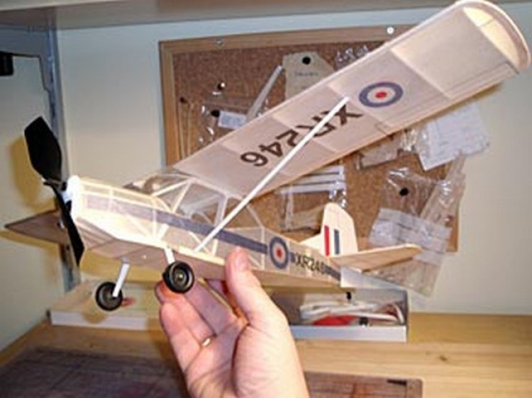 Auster AOP.9 model airplane plan