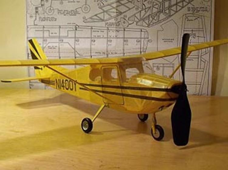 Cessna Skyhawk model airplane plan