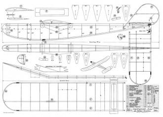 Baby model airplane plan