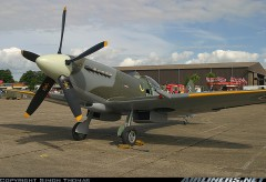 YRM Spitfire Mk 14 model airplane plan