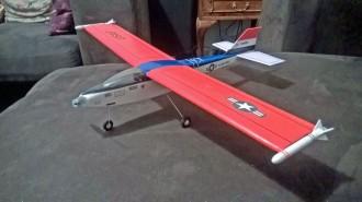 Crusader model airplane plan