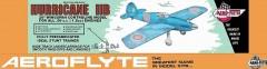 Hurricane model airplane plan