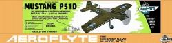 Mustang P 51D model airplane plan