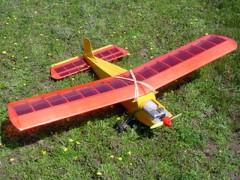 Invader model airplane plan