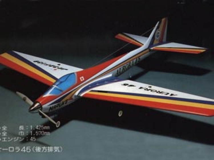 Aurora 45 model airplane plan