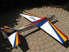 Aurora 60 model airplane plan