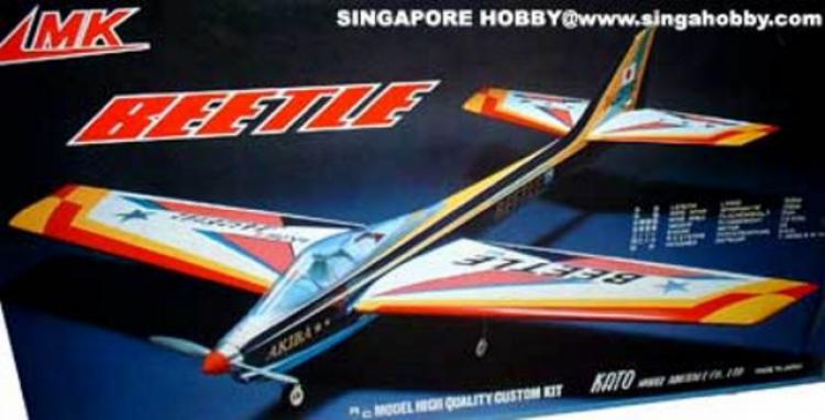 Beetle model airplane plan