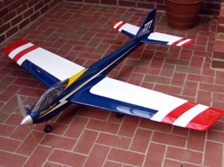 Blue Angel 60 model airplane plan