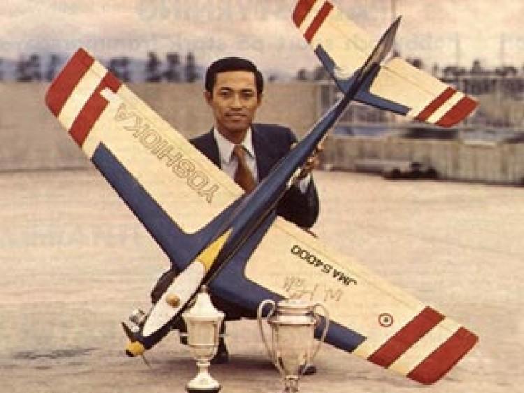 Blue Angel Yoshioka model airplane plan