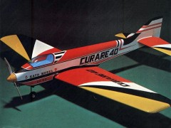 Curare 40 model airplane plan