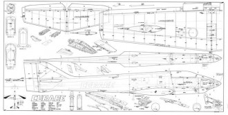 Curare 60 model airplane plan