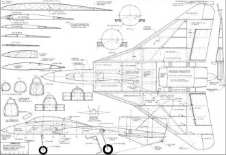 Aerofred Free Model Airplane Plans