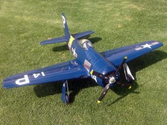 Grumman F8F Bearcat model airplane plan