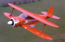 Beechcraft D-17 Staggerwing  model airplane plan