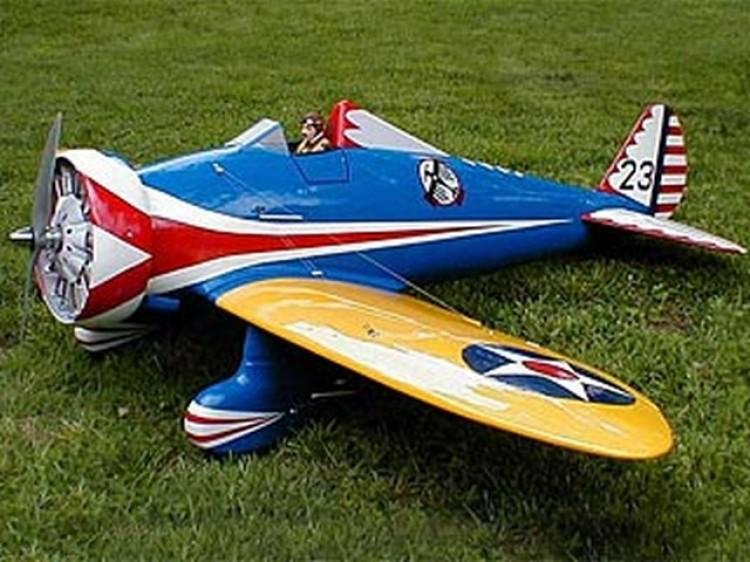 Boeing P26-A model airplane plan