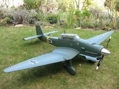 Junkers JU87B-2 Stuka model airplane plan