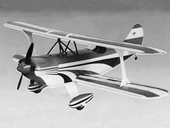 Little Half (Pitts Special) model airplane plan