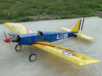 Barn Stormer 25L model airplane plan