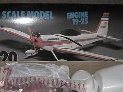 Akromaster 20 model airplane plan
