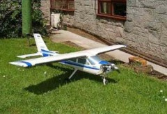 Cessna 177 20 model airplane plan