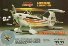 Christen Eagle model airplane plan