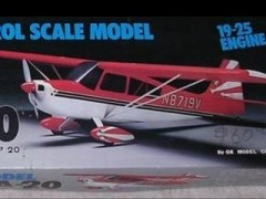 Citabria 20 model airplane plan