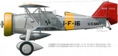 Curtiss Goshawk F11C-2 model airplane plan