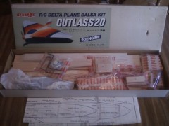 Cutlass 20 model airplane plan