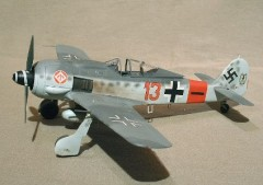 Focke-Wulf 190A  model airplane plan