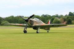 Hawker Hurricane Mk1 model airplane plan