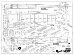 Mystic 30 model airplane plan