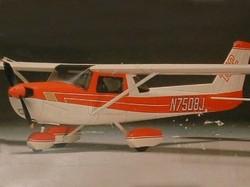 Pilot Cessna 152-20 model airplane plan