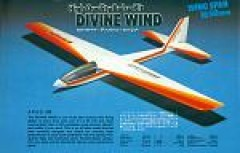Divine Wind - with parts model airplane plan