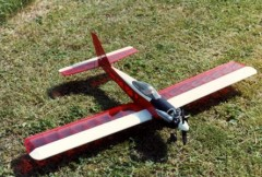 Q.B. 20L II model airplane plan