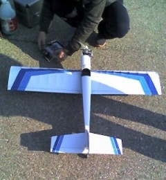 Q.B. 25L Pilot Sport Model model airplane plan
