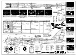 Q.B. 20L II model airplane plan