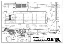 Q.B. 10L model airplane plan