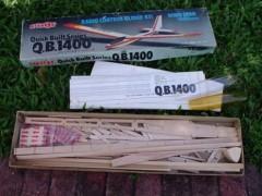 Q.B. 1400 model airplane plan