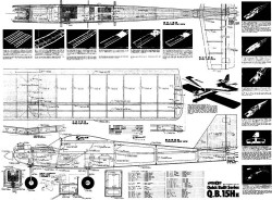 Q.B. 15H II model airplane plan