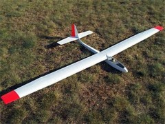 Q.B. 2500 model airplane plan
