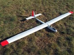 Q.B. 2500 model airplane plan