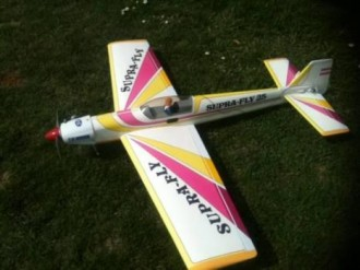 Supra-Fly 25 model airplane plan