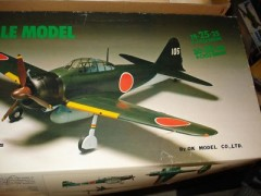 Mitsubishi A6M3 Zero Sen model airplane plan