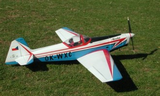 Zlin Akrobat model airplane plan