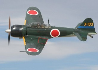 1/2A Mitsubishi Zero A6M3 model airplane plan