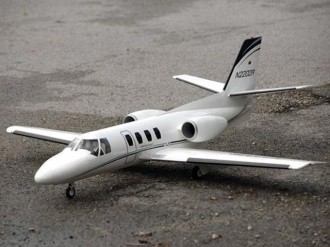 Cessna 500 model airplane plan